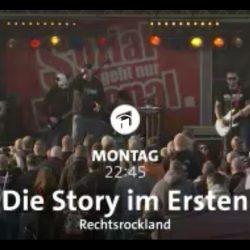 HEUTE: ARD - Rechtsrockland - Beiträge von Thomas Kuban